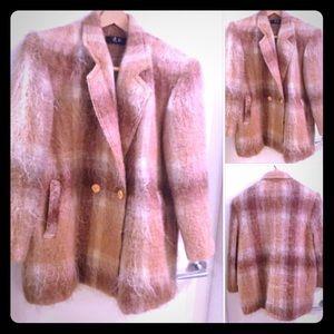 FANCY CHEN Silk/Ostrich Dress Jkt 10